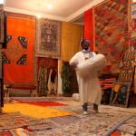 Ouarzazate, negozio di tappeti