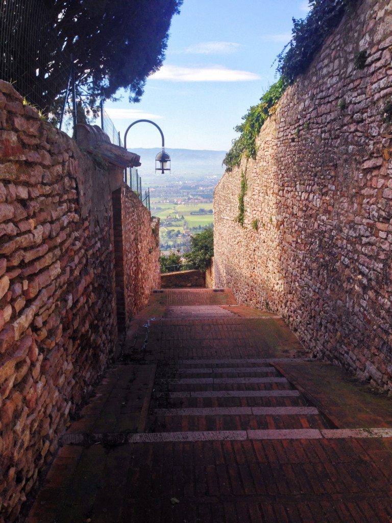 Assisi è una terrazza sull'Umbria