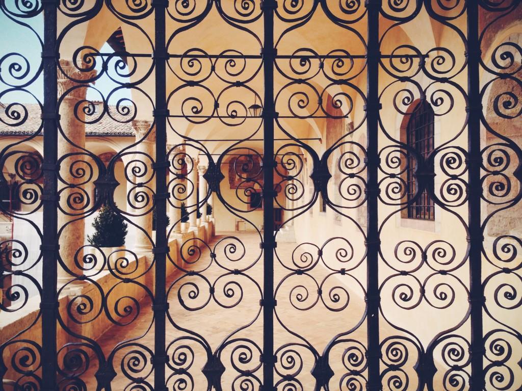 Assisi, Sacro Convento, Chiostro di Sisto IV