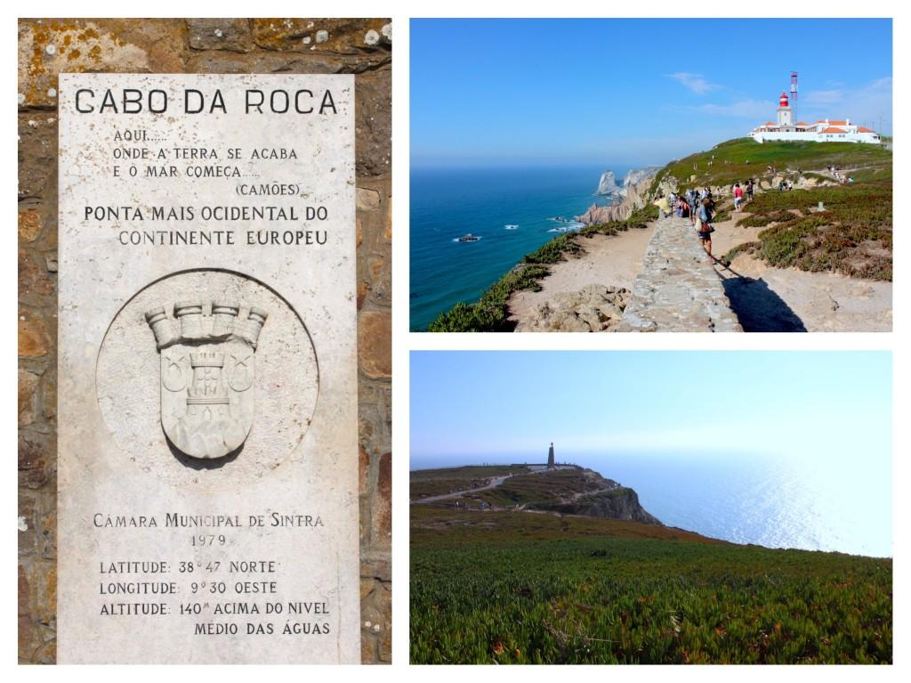 Cabo da Roca - Aqui onde a terra se acaba e o mar comeca - Camoes