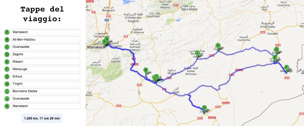 Il mio itinerario di una settimana in Marocco2