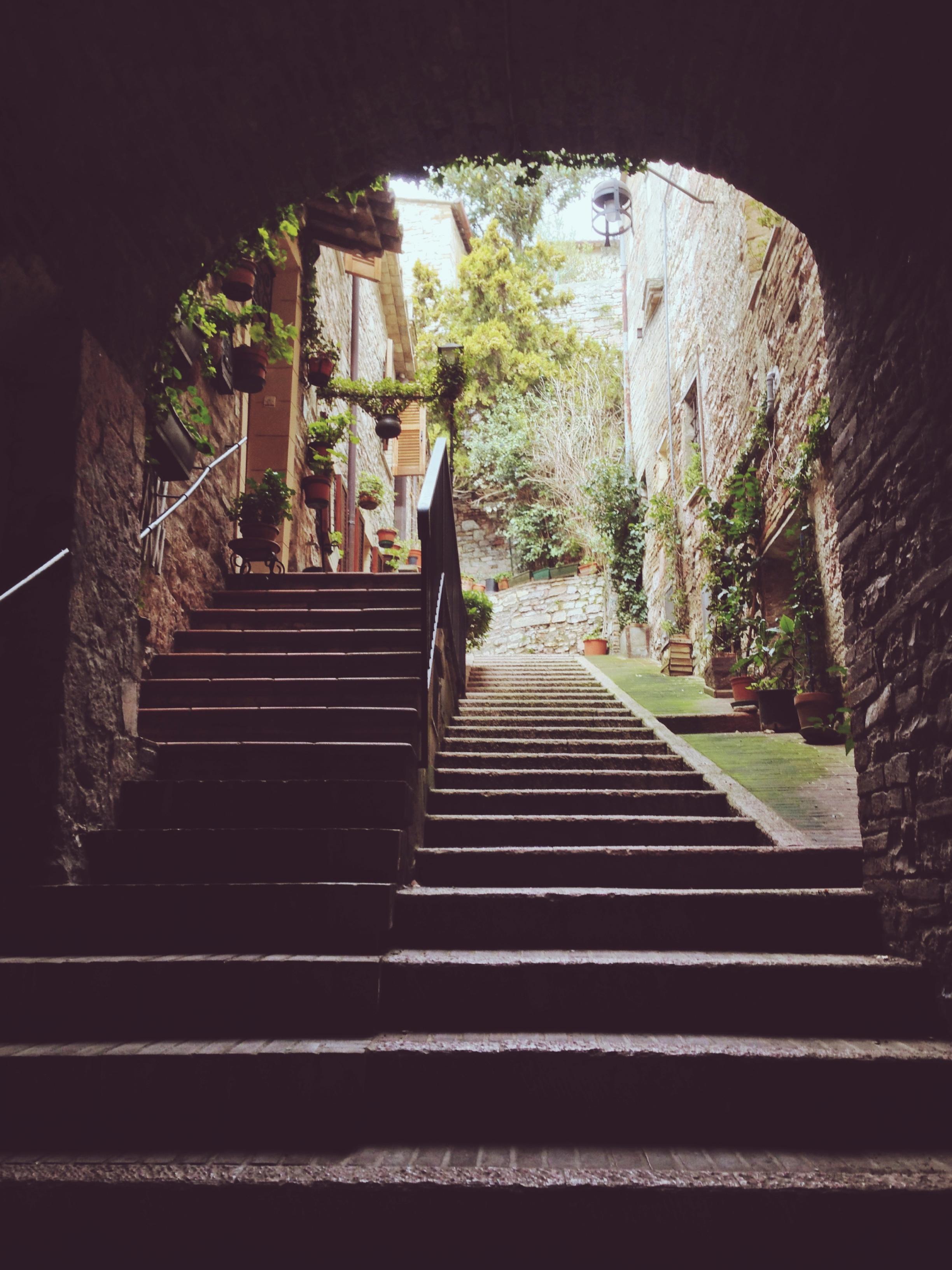 Lo scorcio più bello di Assisi, che cerco ogni volta che ci torno