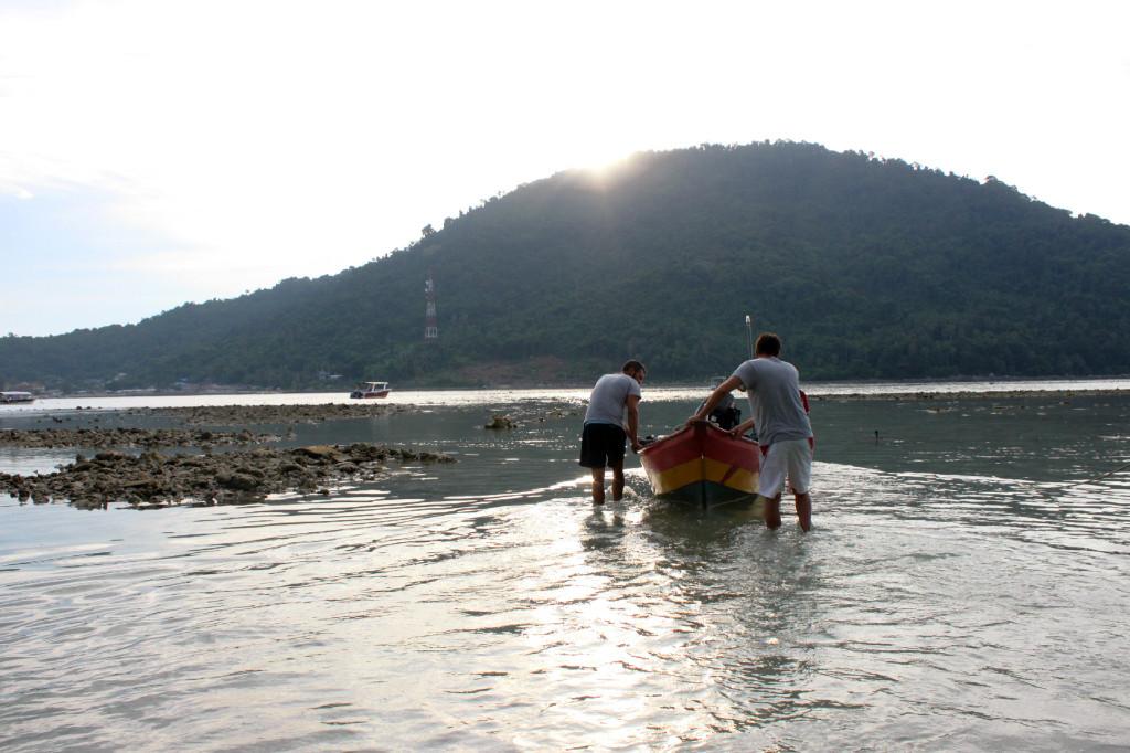barchetta isole perhentian, malesia