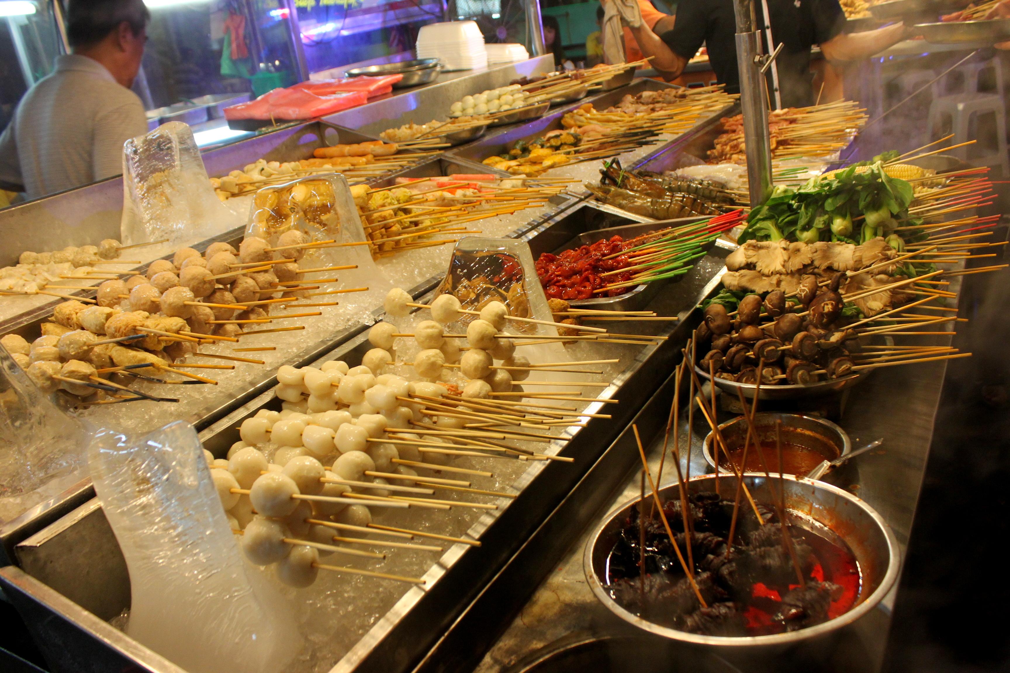 mangiare in malesia