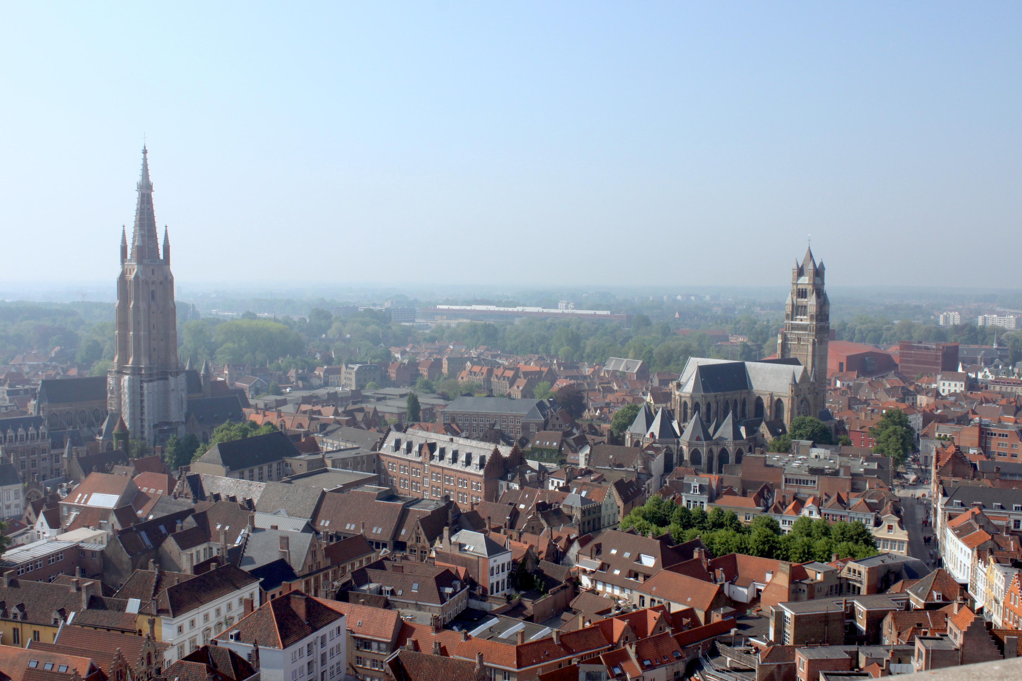 I tetti di Bruges