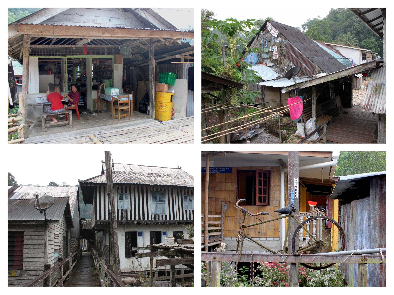 villaggio iban kuching