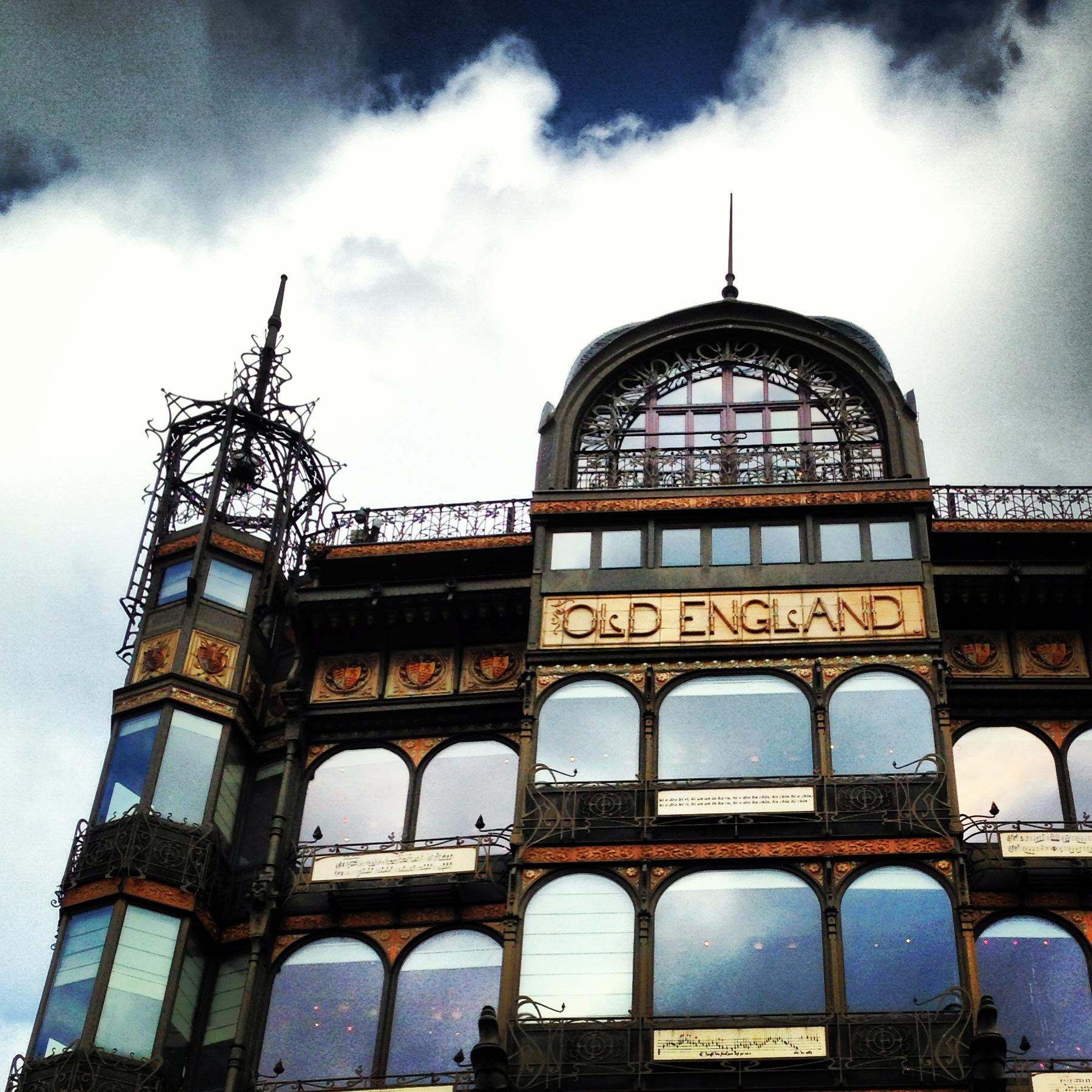 Il Museo degli stumenti musicali in un palazzo ancora più bello del museo stesso