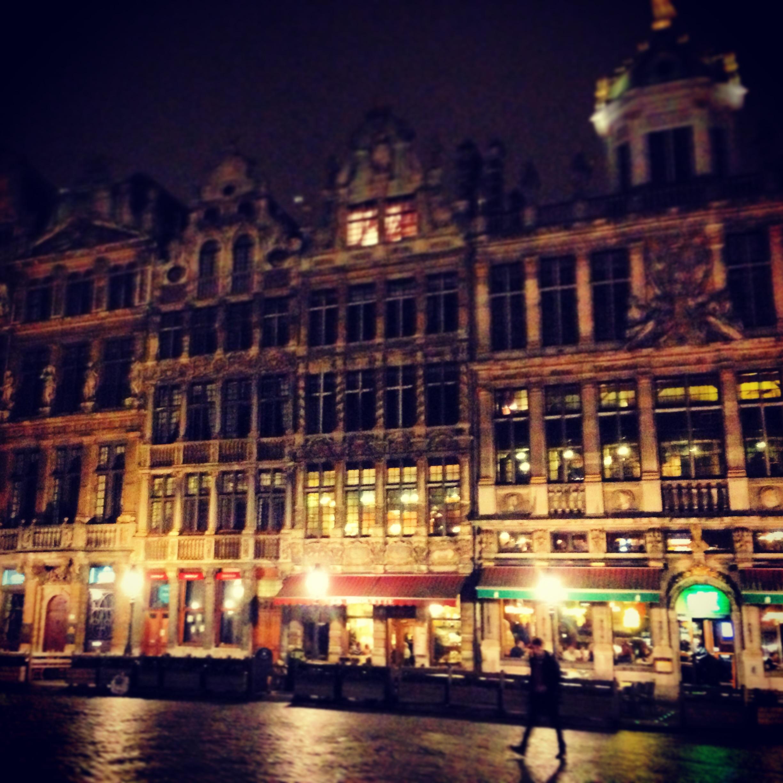 Grand Place, la nuit