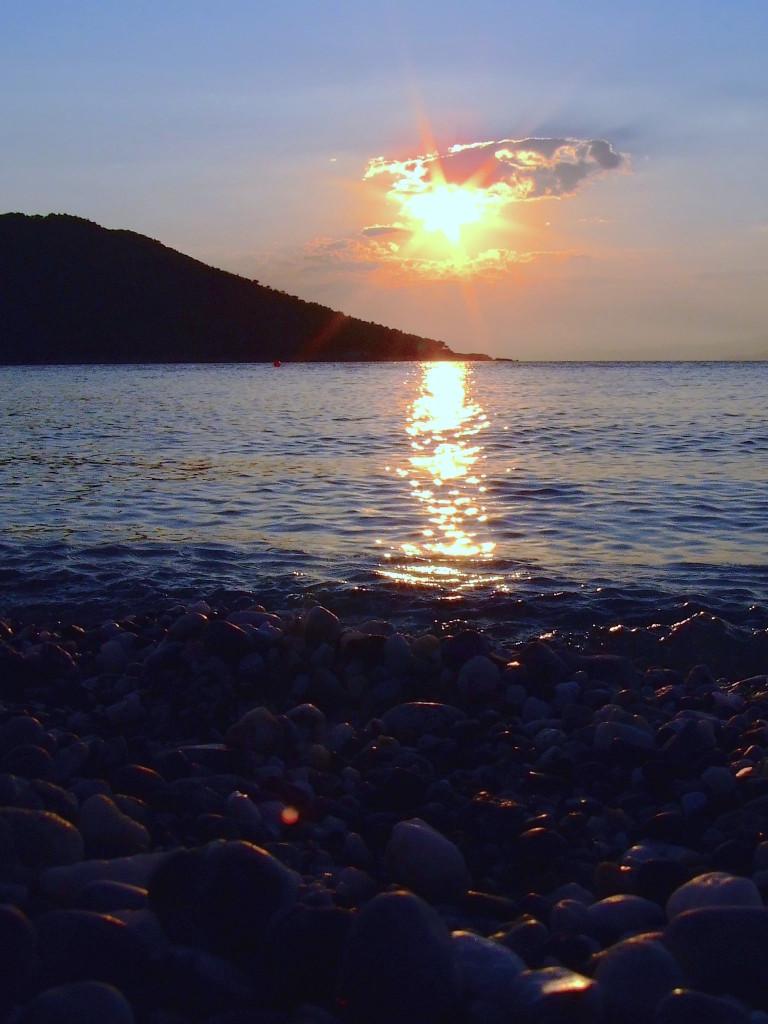 E poi solo il tramonto, che senza mio babbo perde un po', ma è veramente una meraviglia comunque