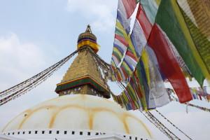 Lo splendido stupa di Bodnath