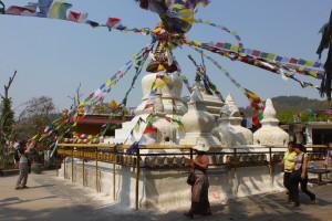 Lo stupa di Namobuddha