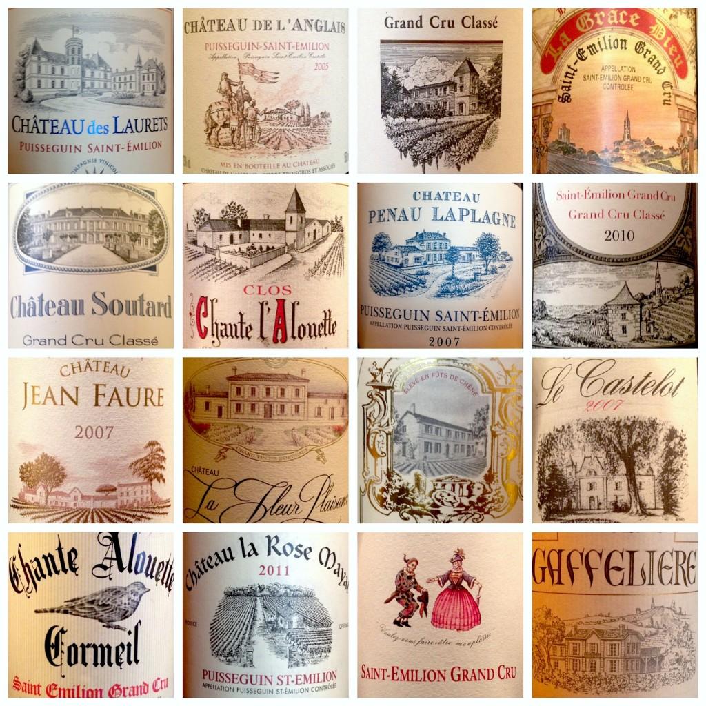 Il design delle etichette dei vini è affascinante