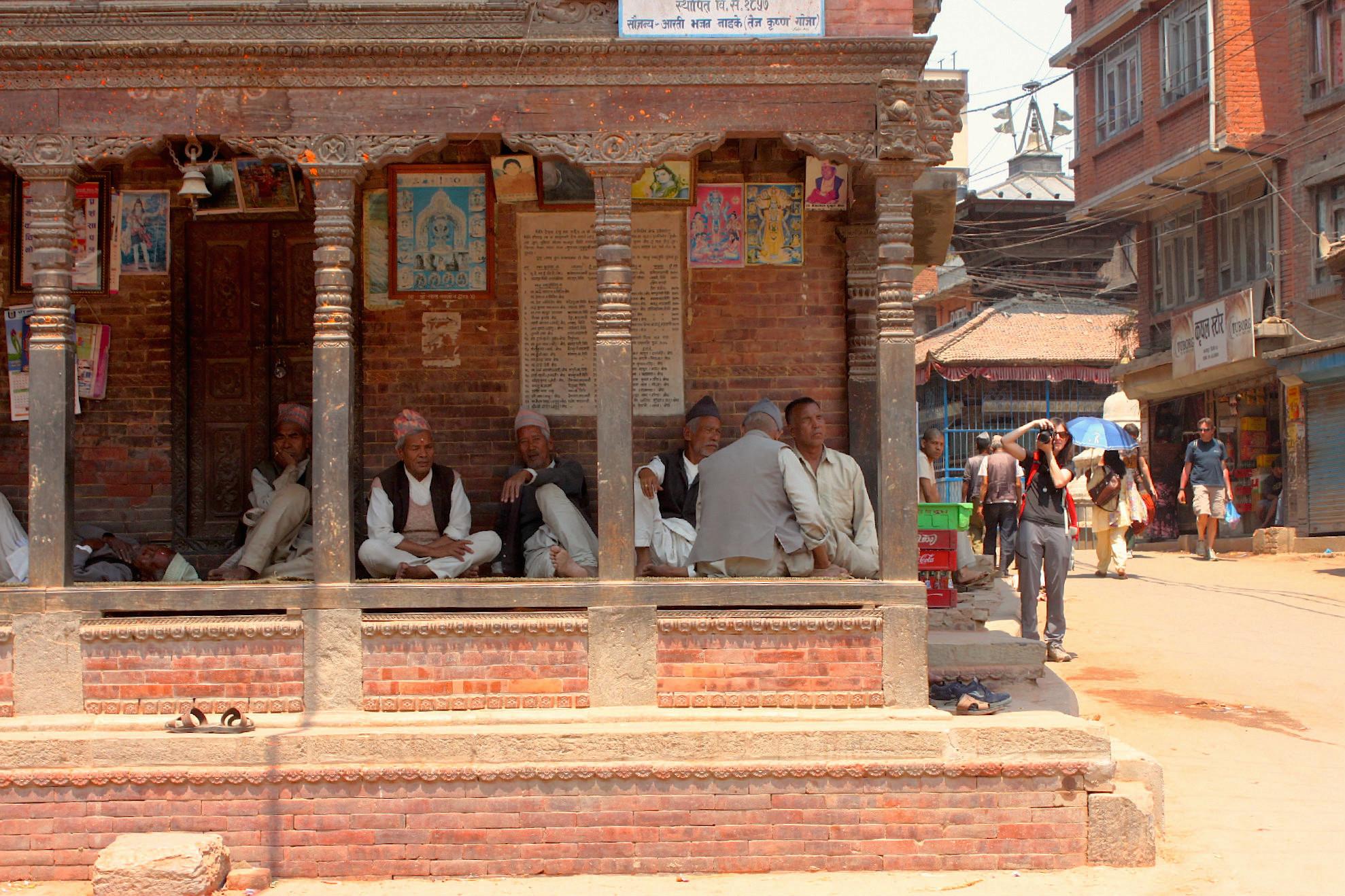 E si mettono comodissimi sotto le pagode