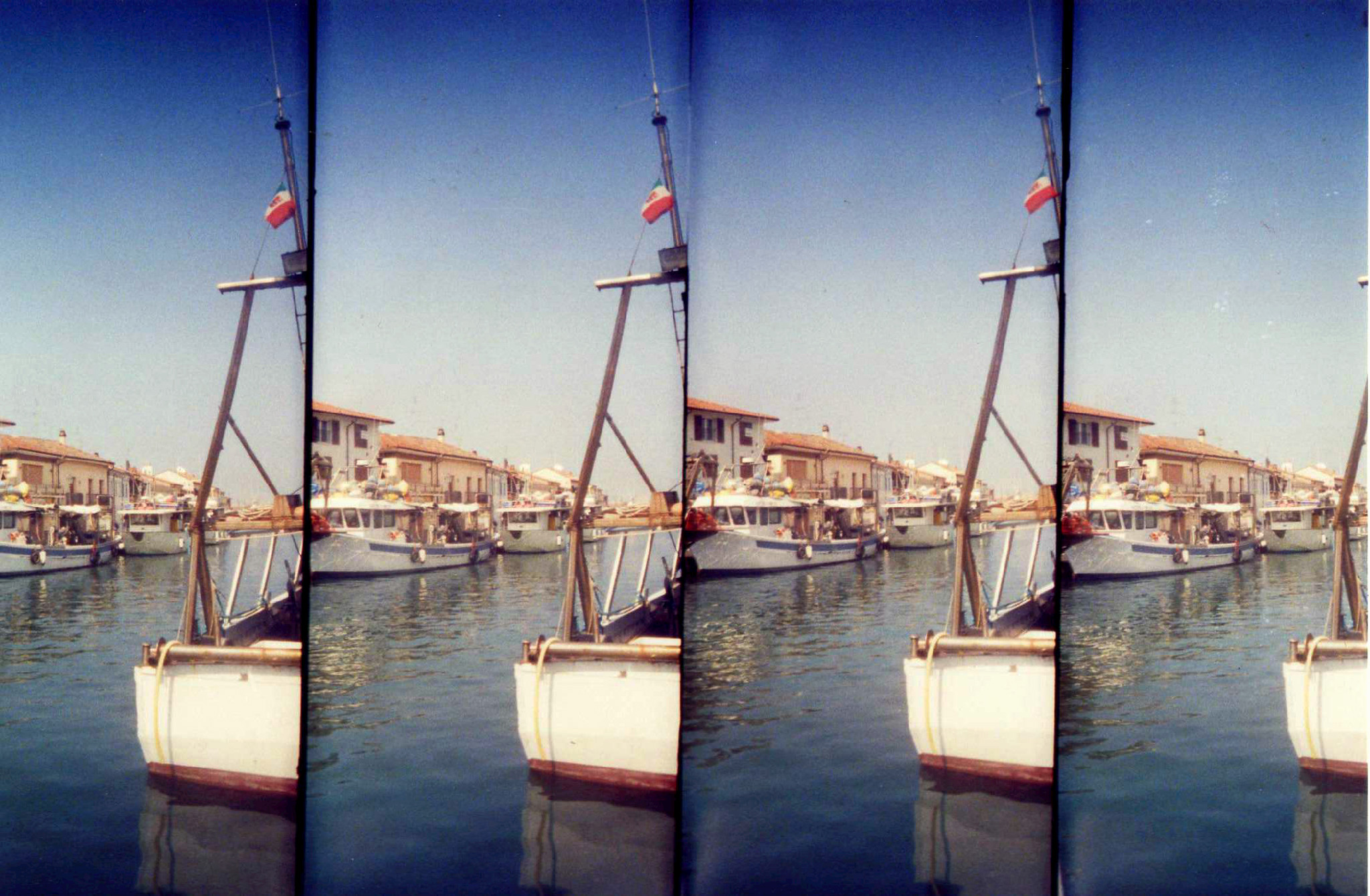 Il Porto Canale di Cesenatico con la Lomo Supersampler