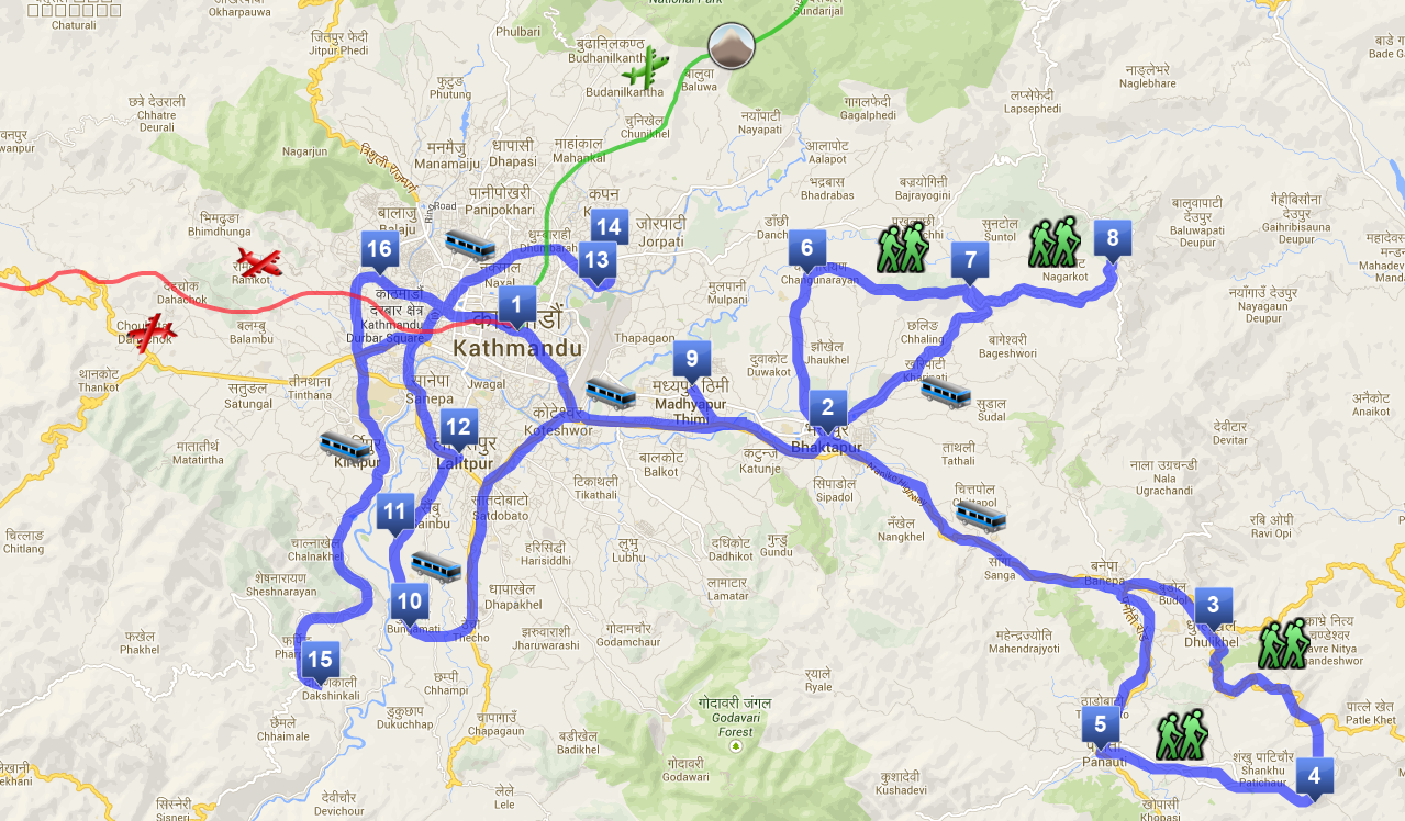 Itinerario Nepal