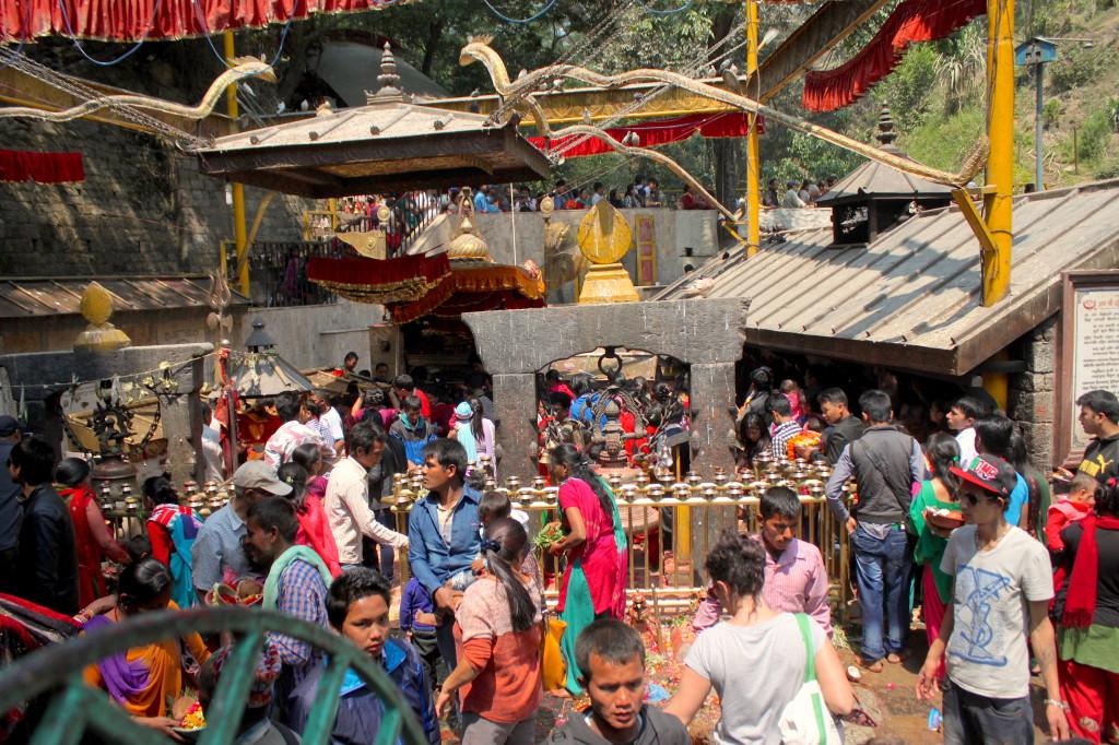Sacrifici animali, Tempio Dakshinkali a Kathmandu in Nepal-