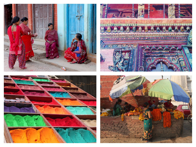 colori in nepal