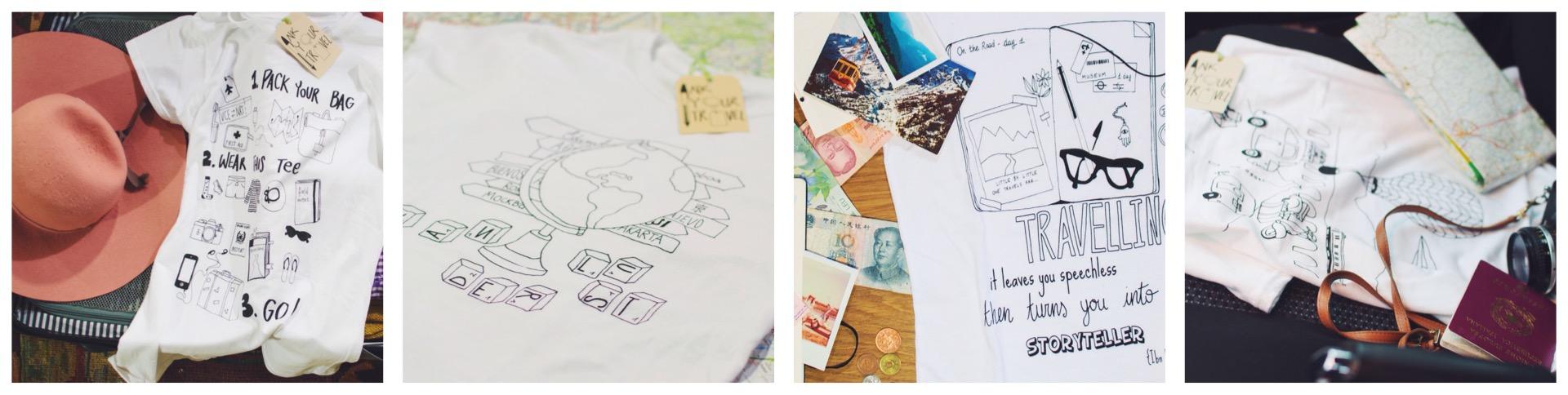 Ink Your Travel - magliette per viaggiatori 2