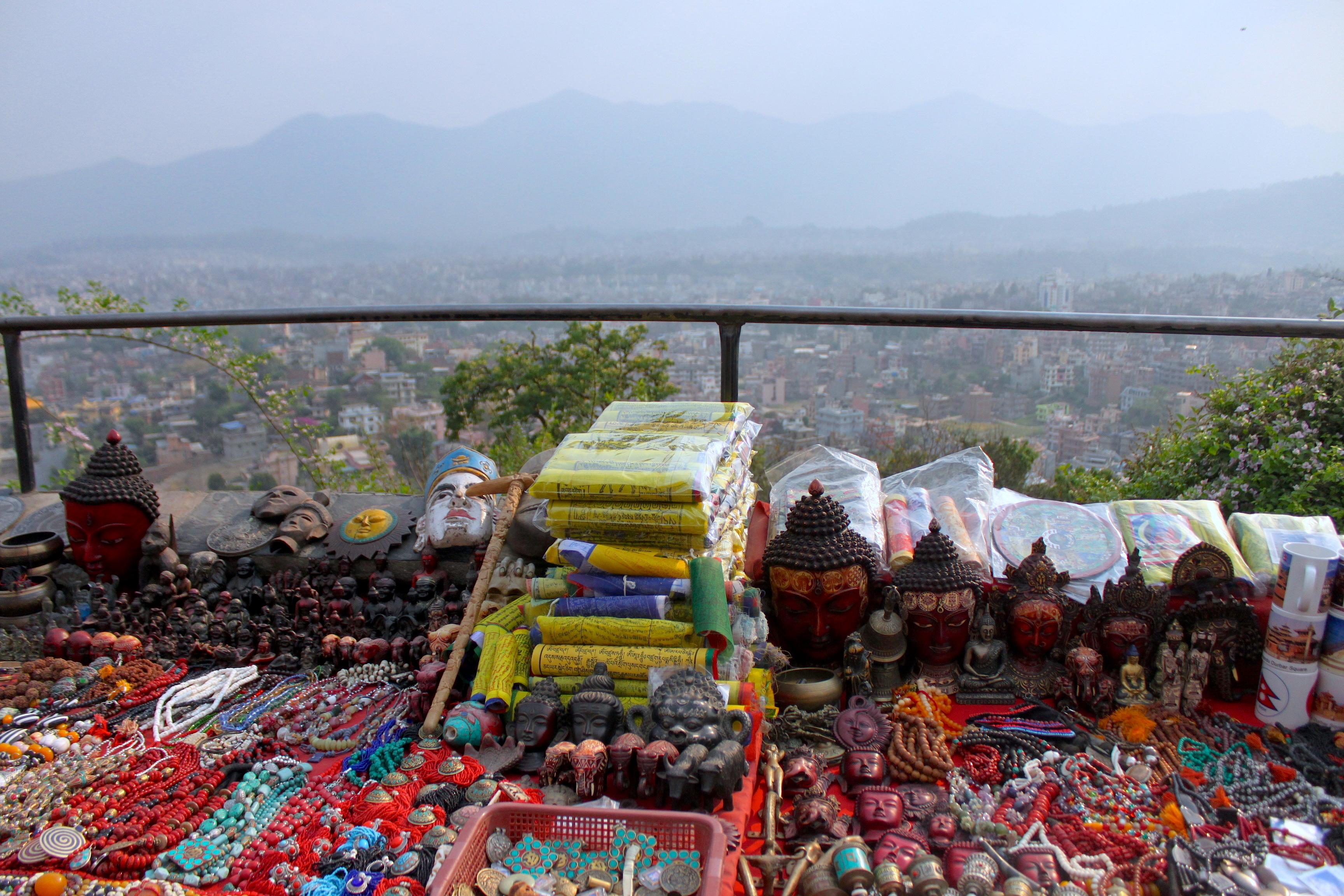 Kathmandu dall'alto, infinita