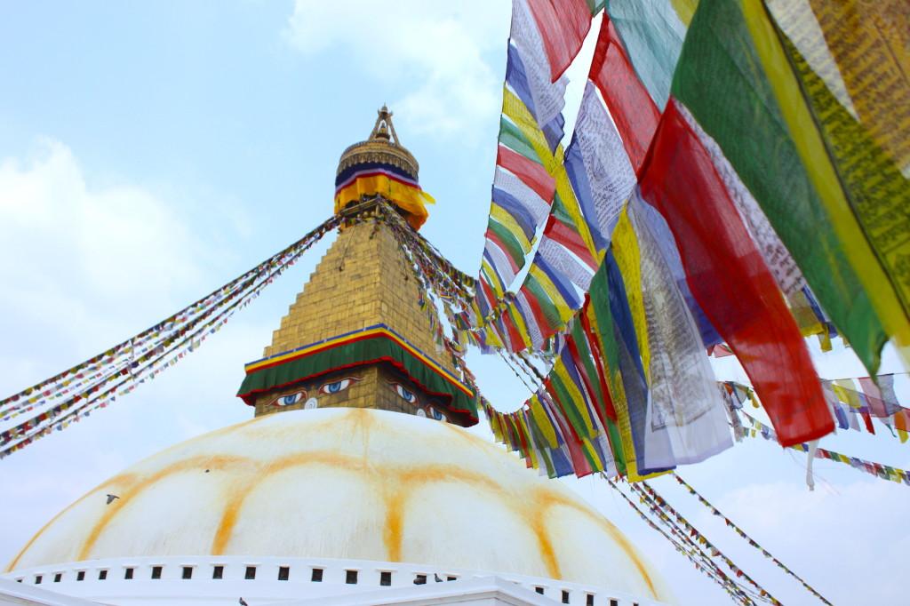 Lo stupa di Bodnath, uno dei luoghi più affascinanti del Nepal