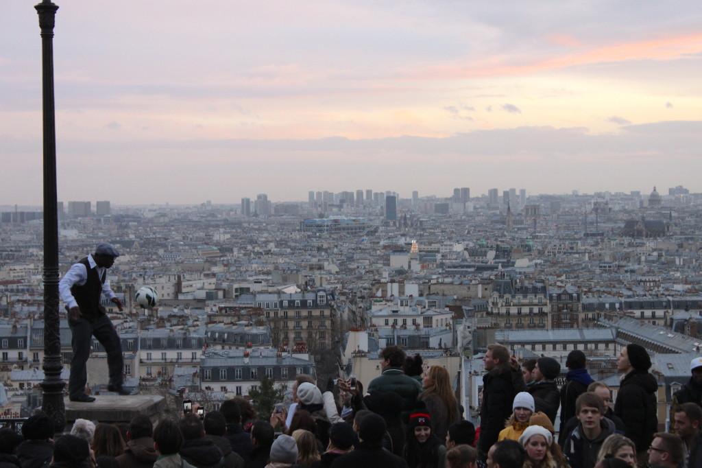 Numeri incredibili sul tetto di Parigi