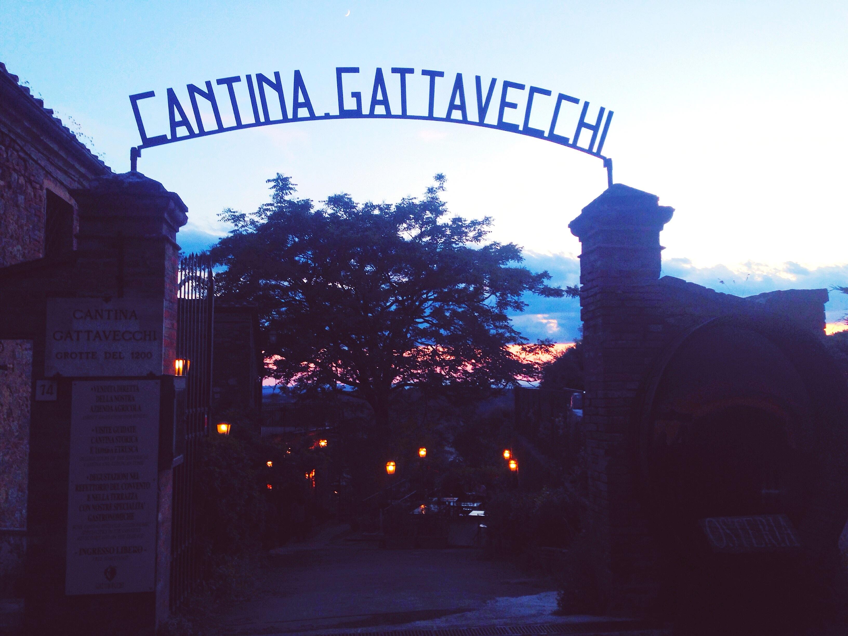 ristorante montepulciano - cantina gattavecchi