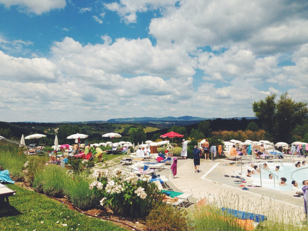 weekend alle terme di rapolano in toscana