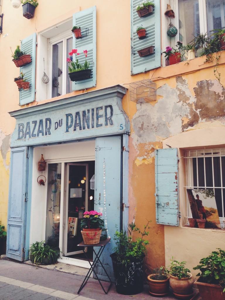 Bazar du Panier, un po' di shopping in un negozietto provenzale a Marsiglia