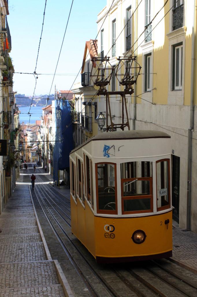Passeggiando verso l'Alfama, a Lisbona.
