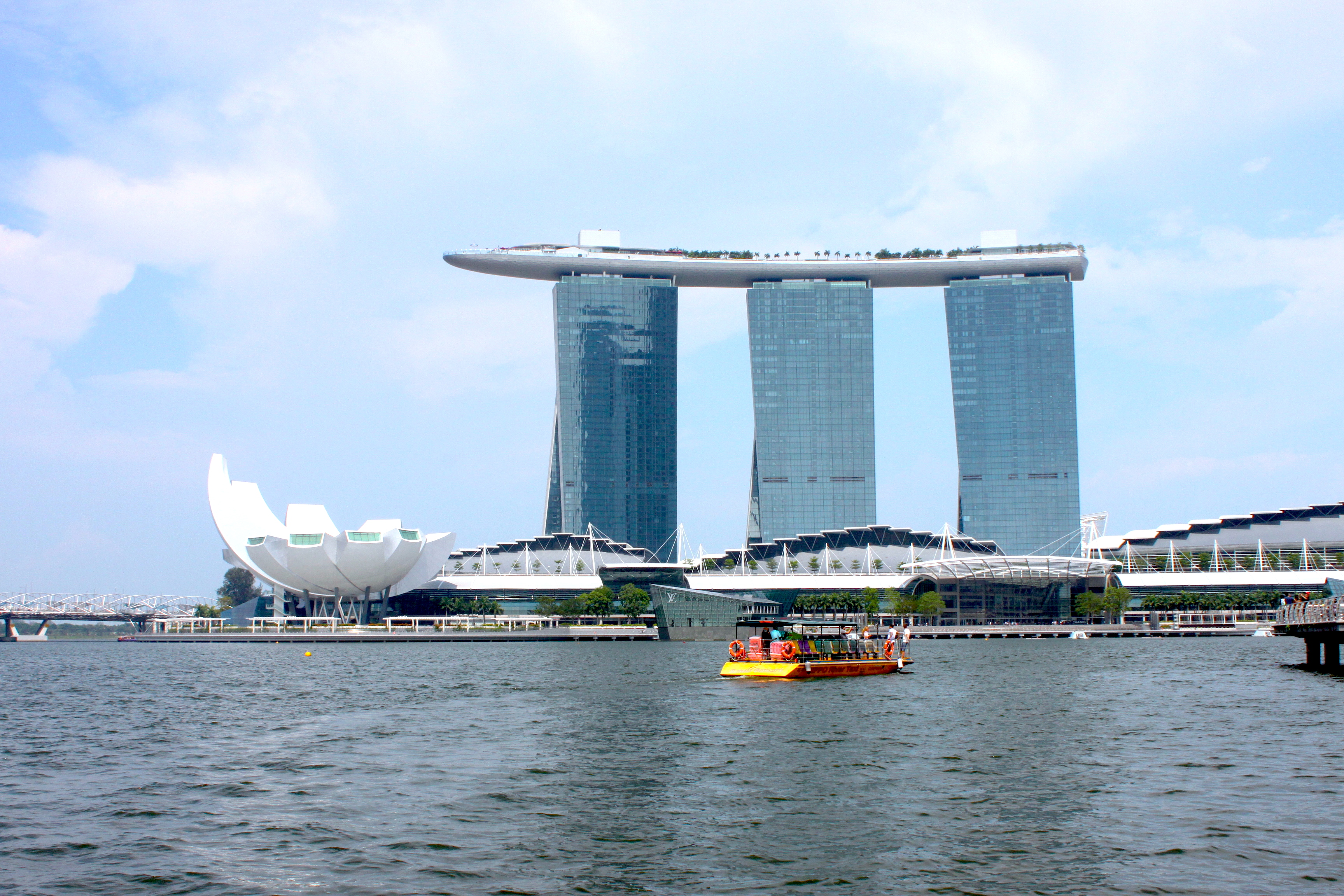 Lo spettacolare Marina Bay Sands