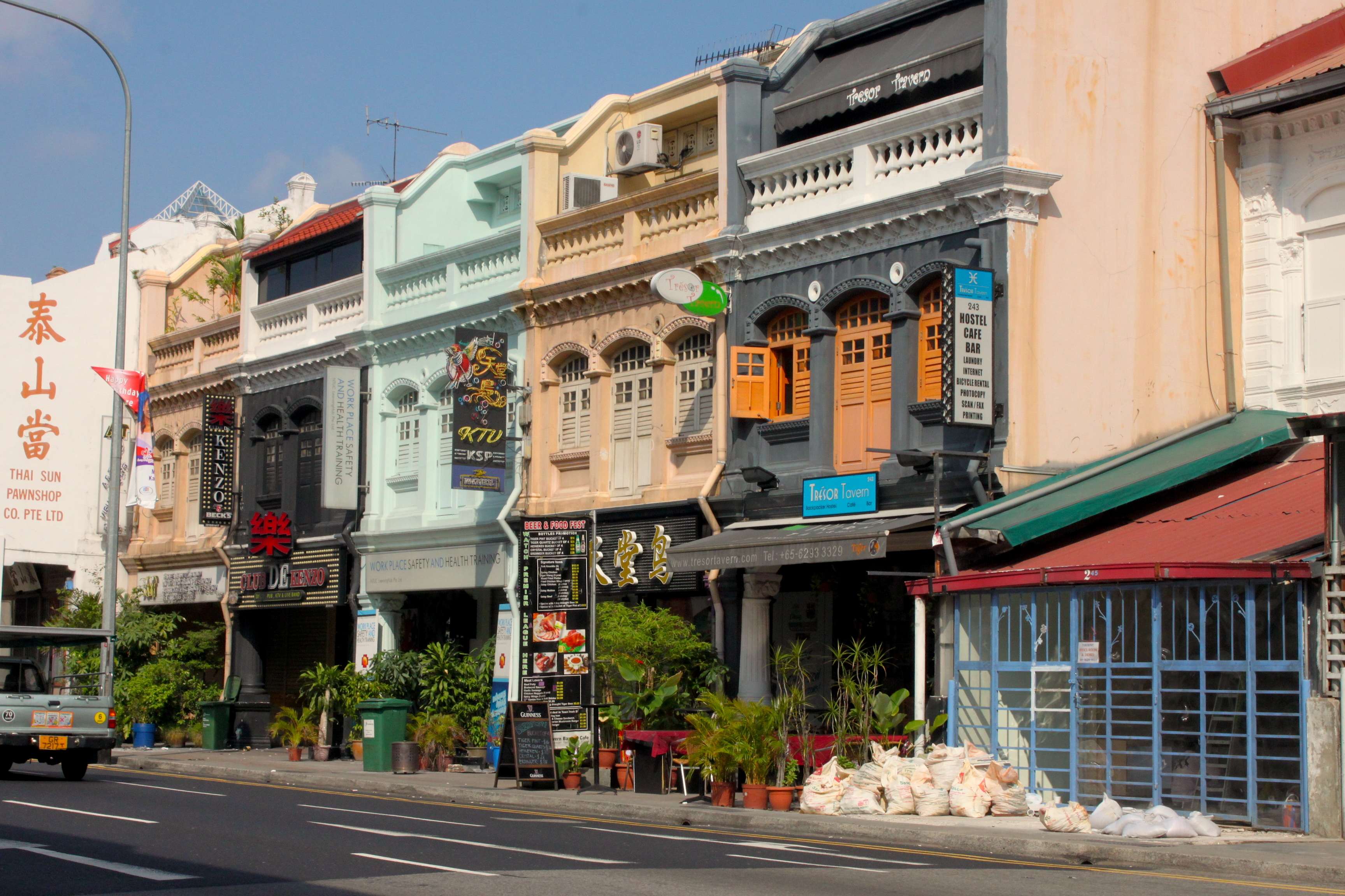 Ogni città in Asia ha la sua China Town, anche la più moderna