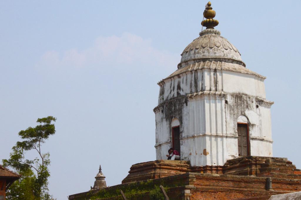 I templi servono per fare ombra quando si ha voglia di chiacchiere