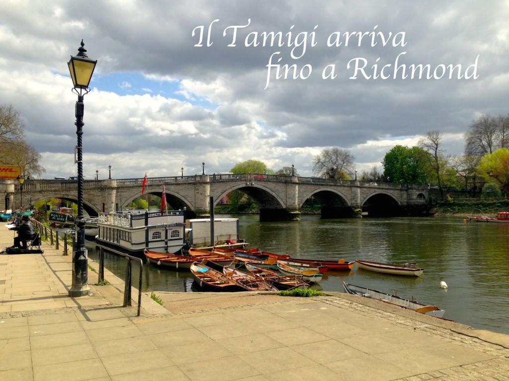 Il Tamigi arriva fino a Richmond