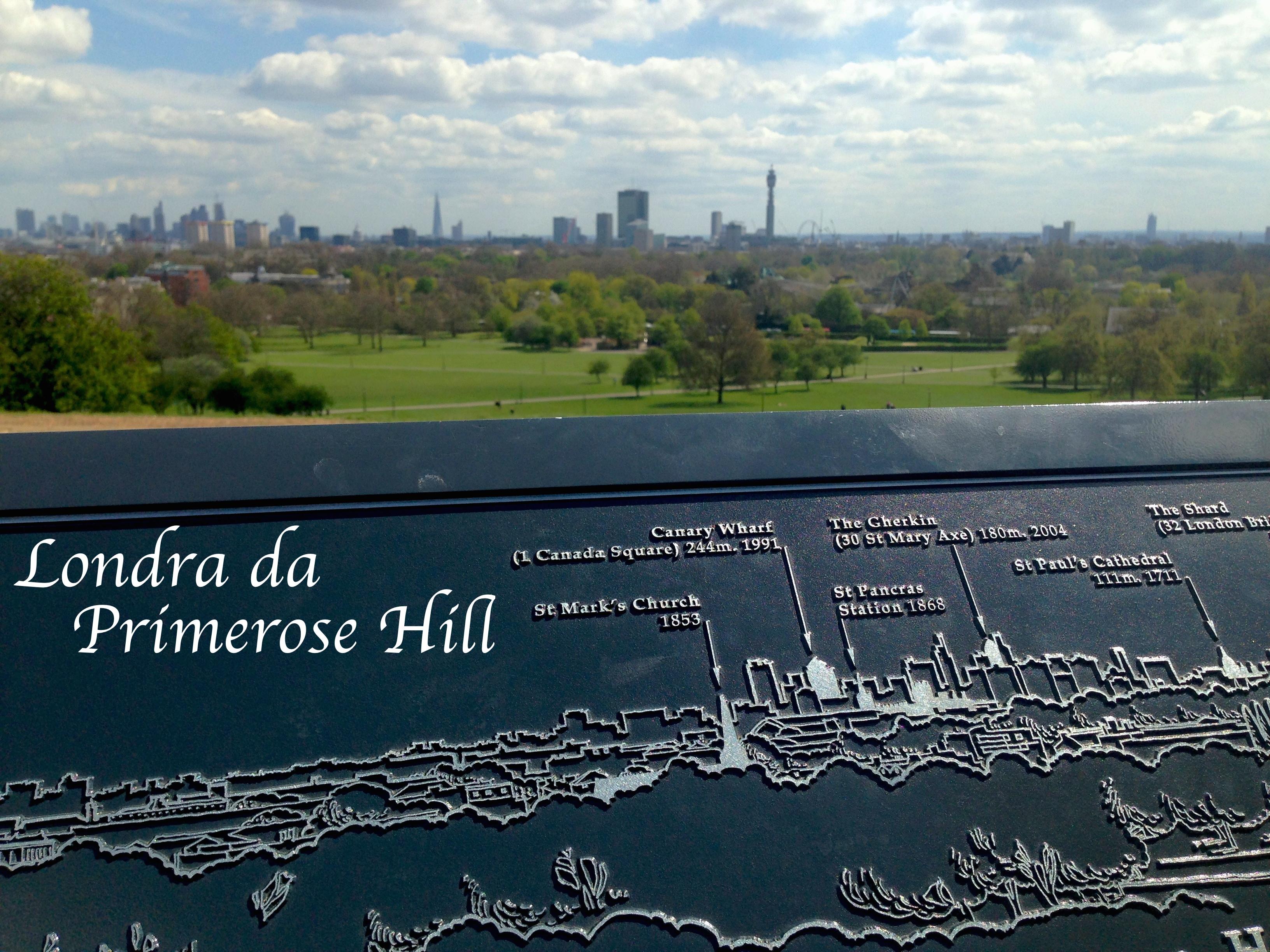 Londra da Primrose Hill