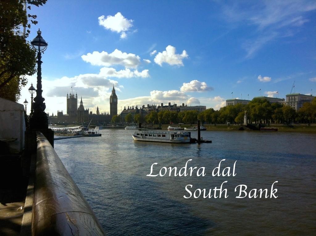 Londra dal South Bank
