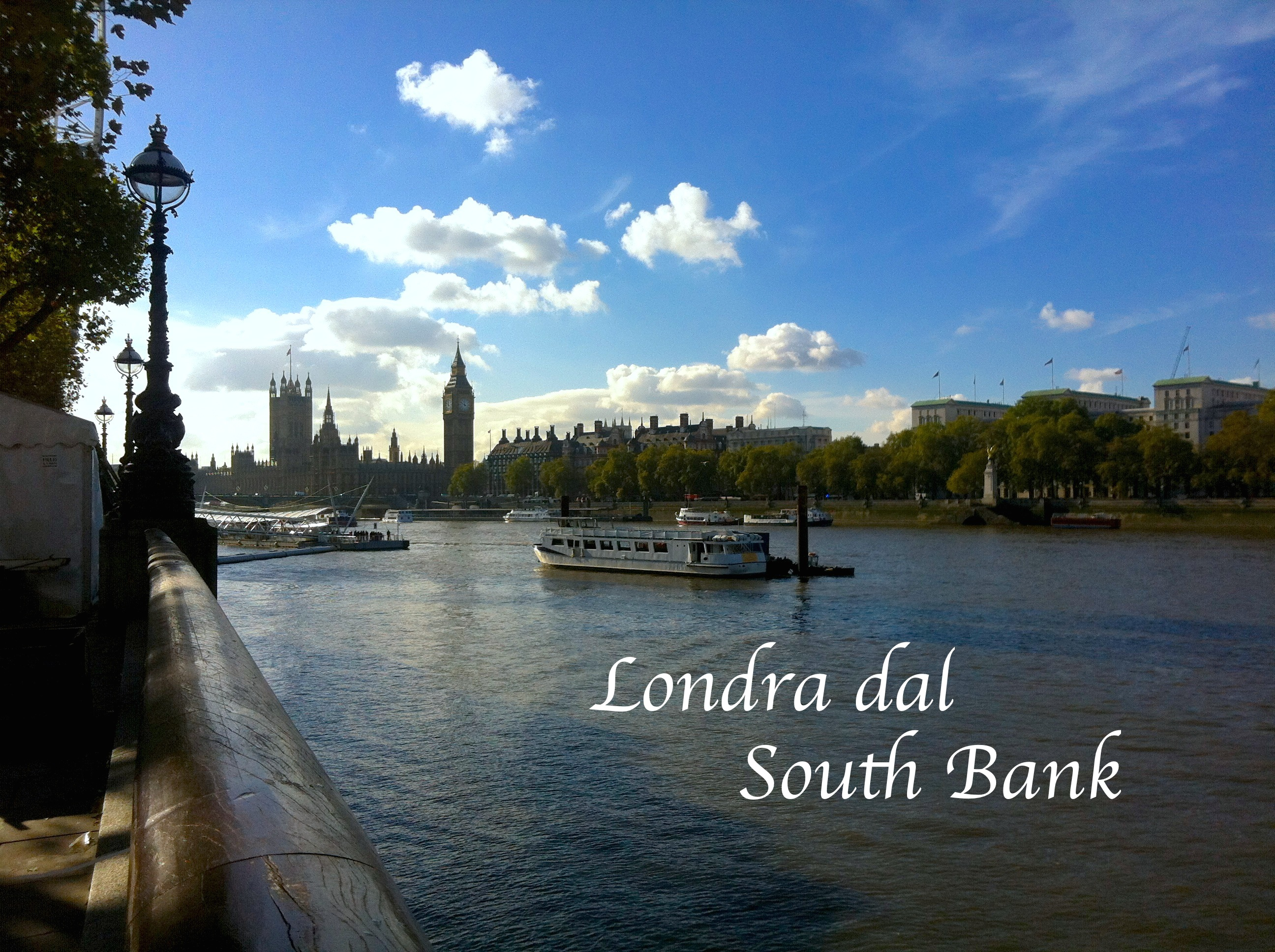 Londra dal South Bank