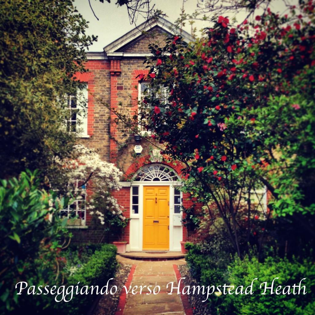 Passeggiando verso Hampstead Heath