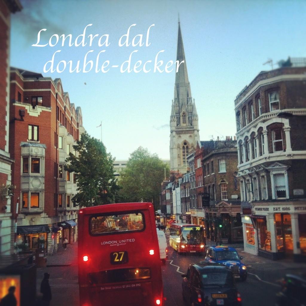 double-decker bus, londra