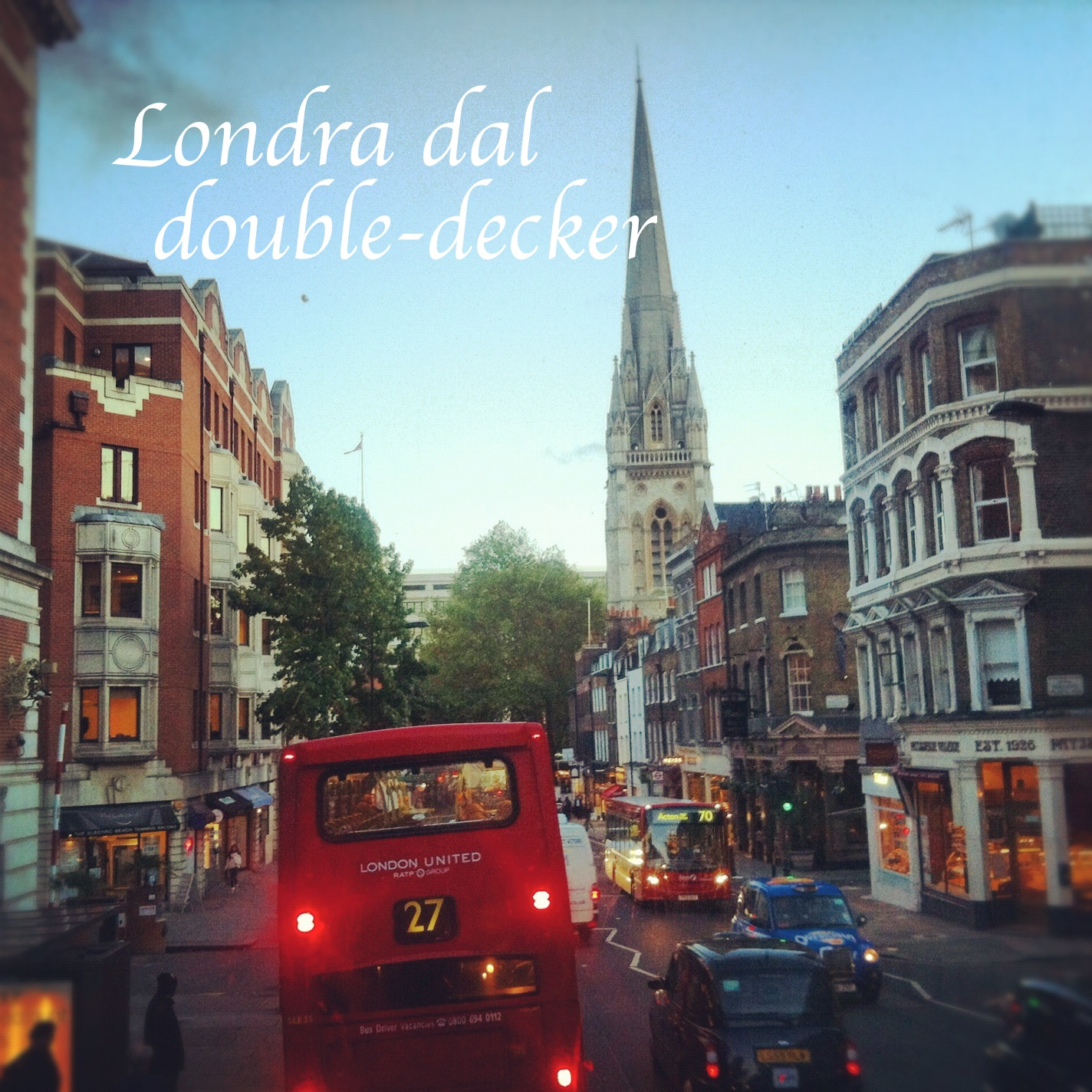 double-decker bus, londra