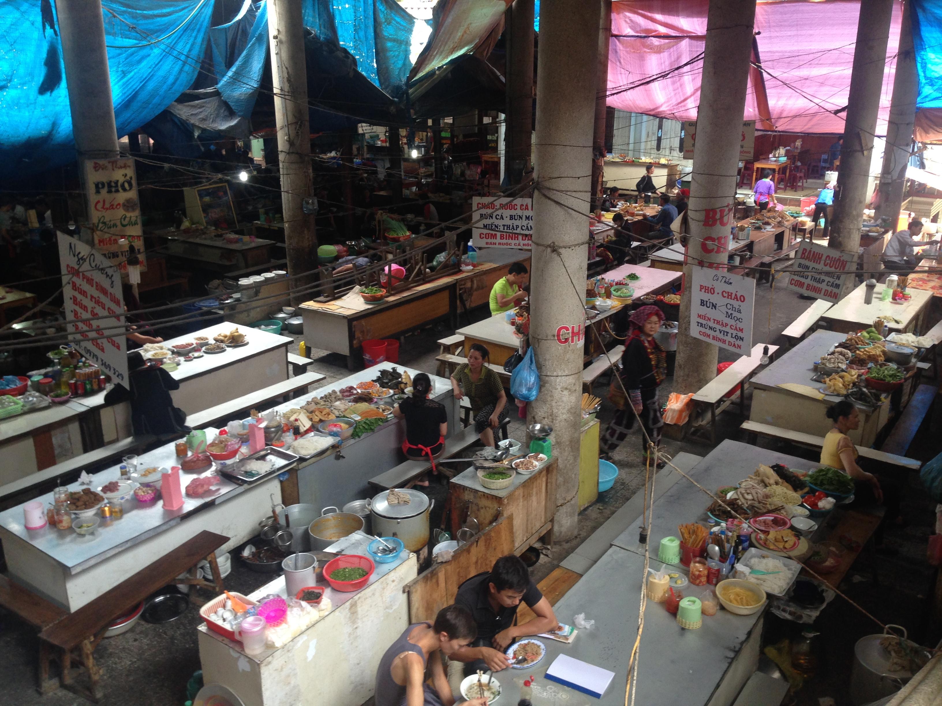 E il mercato del cibo...