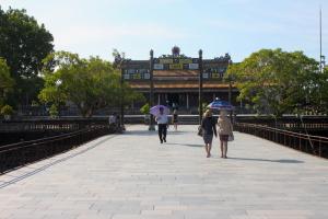 Dentro la Cittadella di Hue