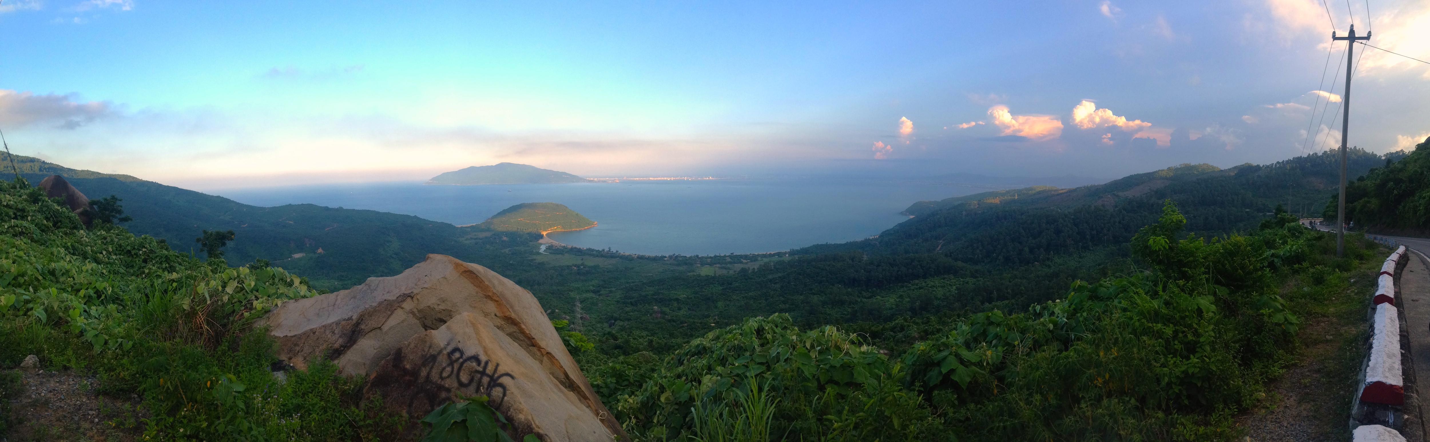 La splendida vista da Hai Van Pass
