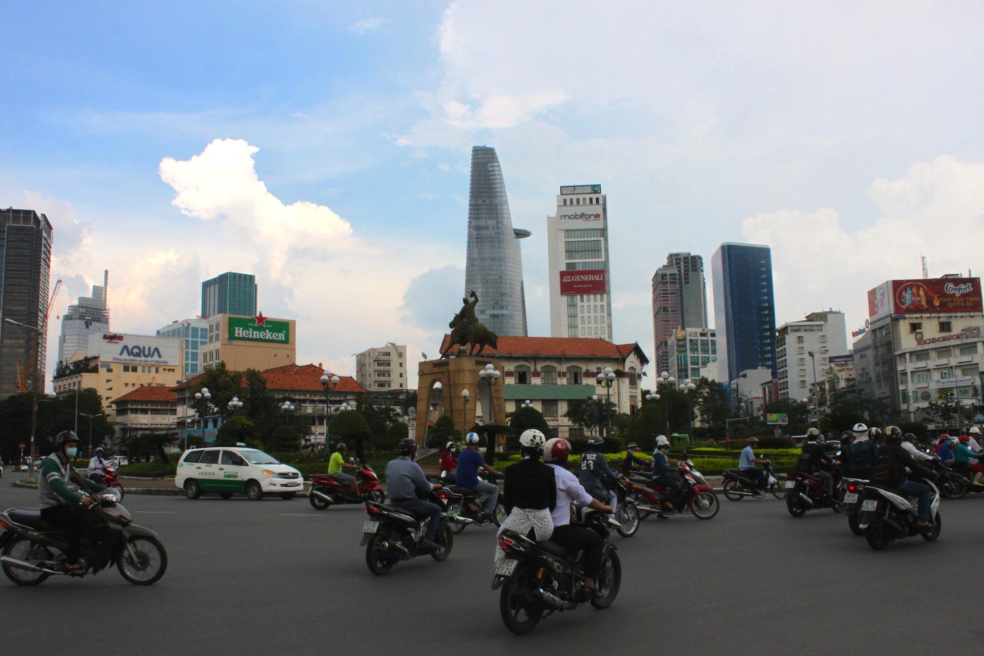 Ho Chi Minh City coi suoi grattacieli