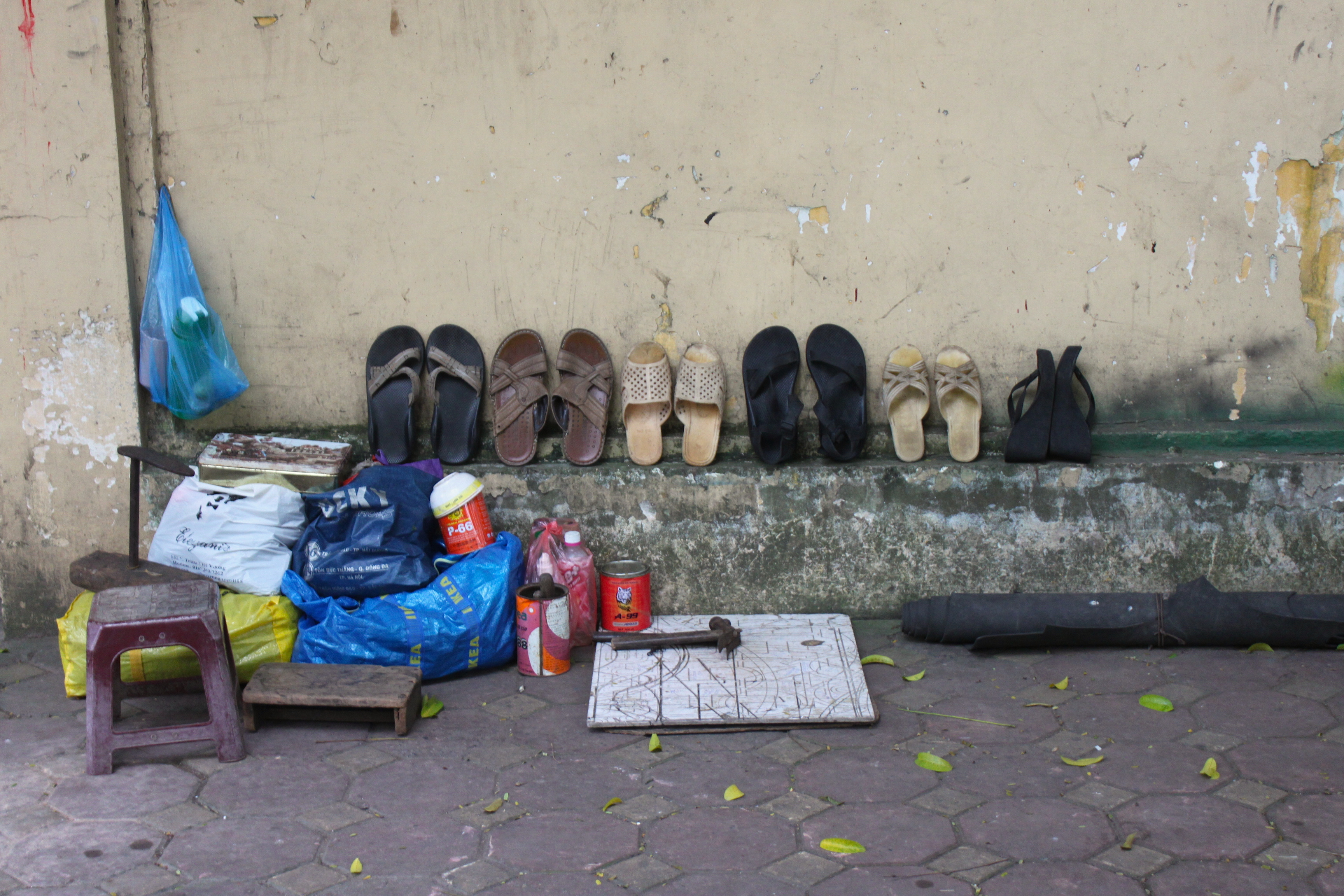 Il calzolaio ad Hanoi
