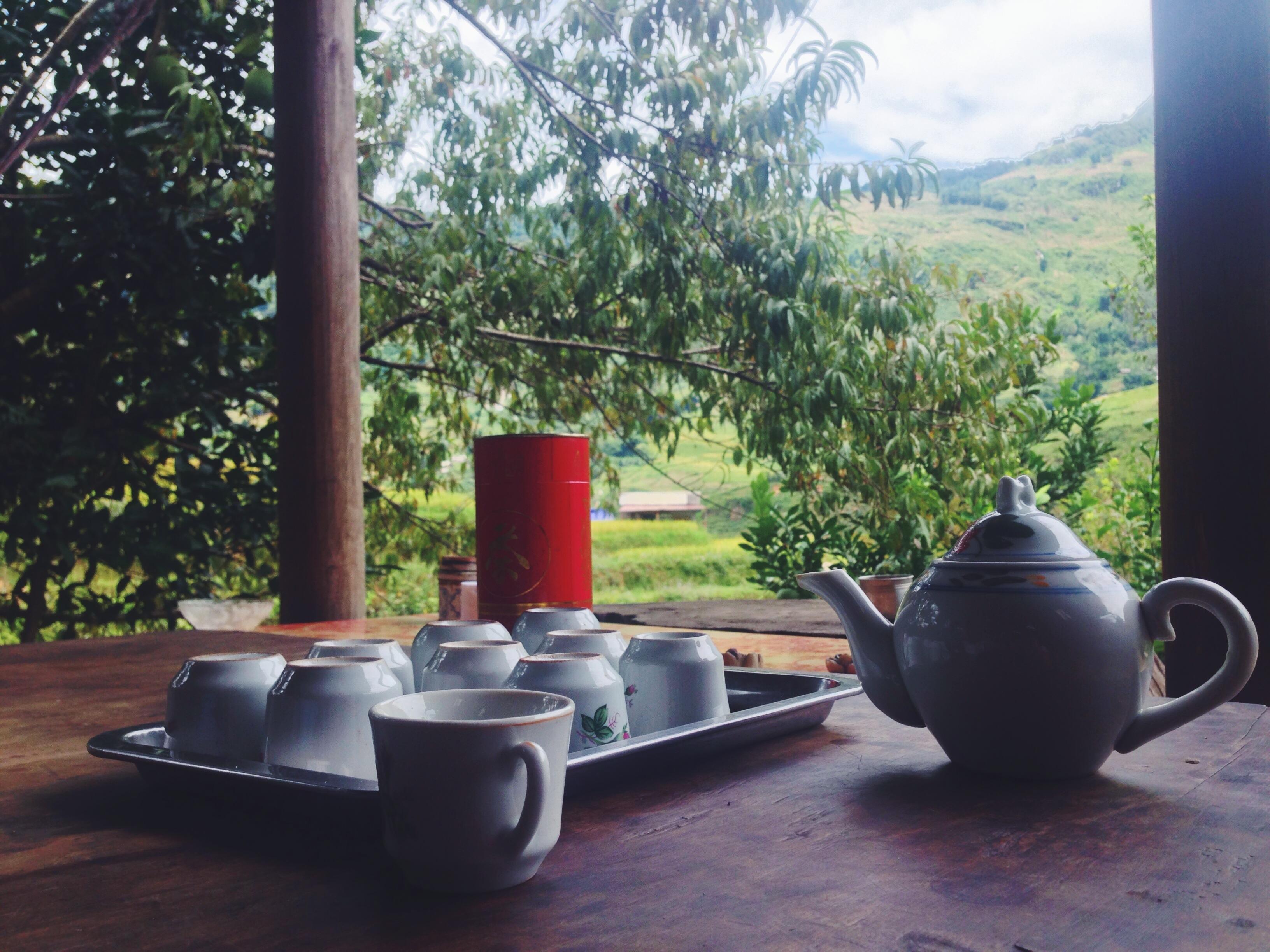 Il tè alla homestay
