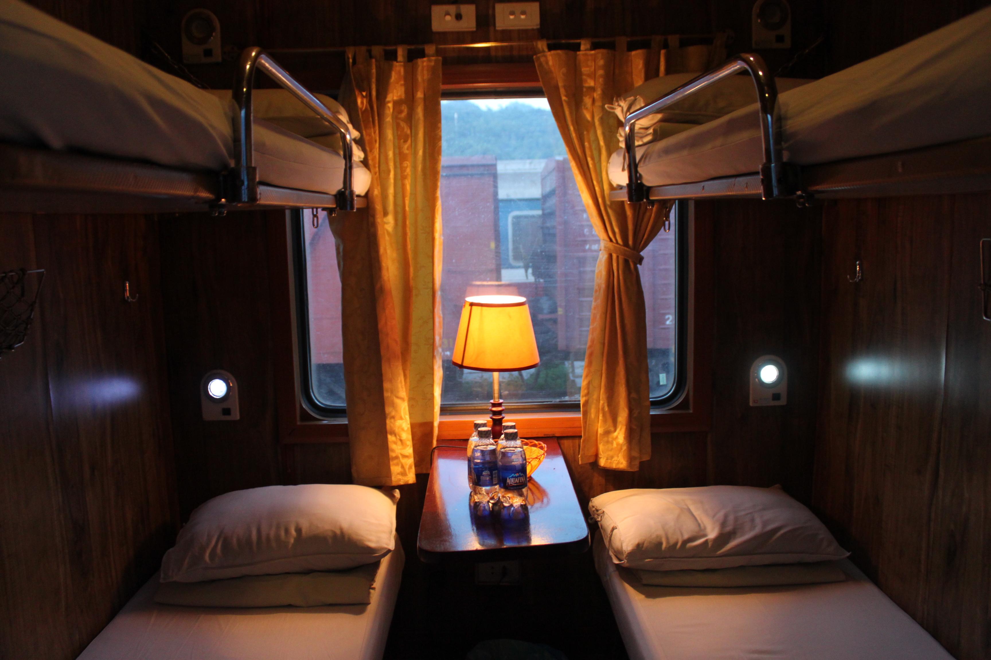 Il treno notturno, ma vi giuro che in foto viene meglio