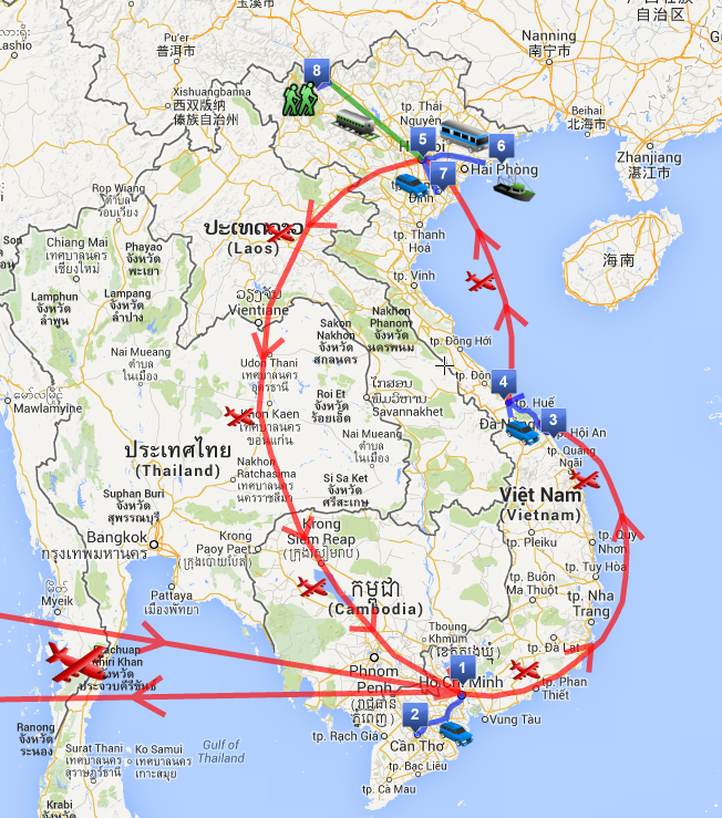 Itinerario di due settimane in Vietnam