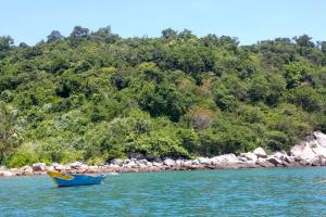 L'arrivo a Cham Island