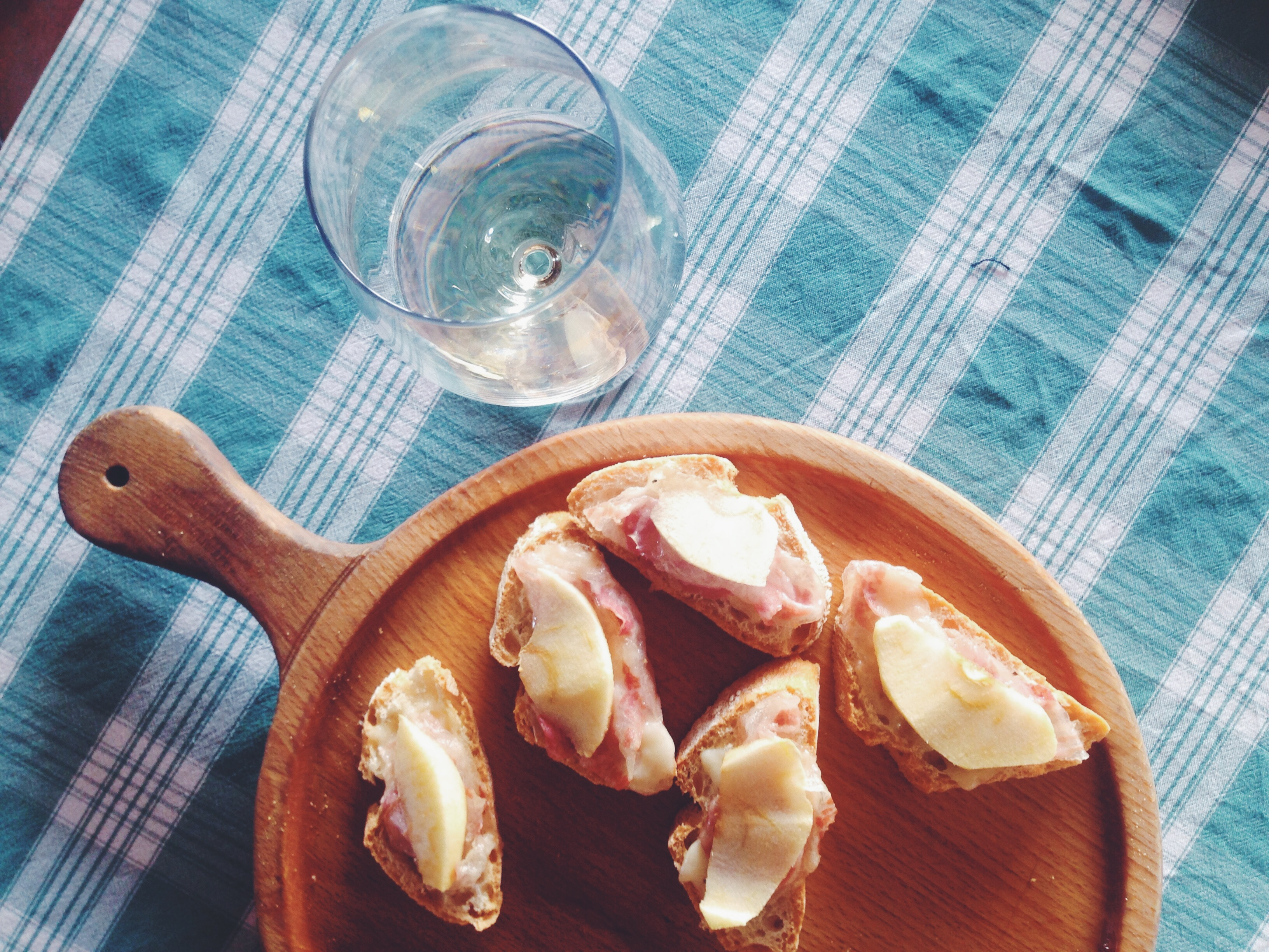 Agriturismo Al Capitello a Monfumo - crostini pancetta e mela