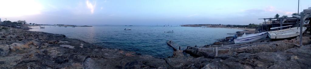 Il mare, sempre lui, da Es Pujol
